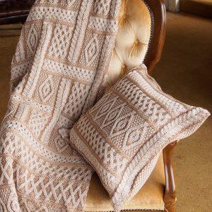 Aran Cushion Cover