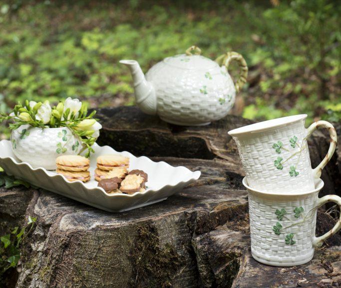 Shamrock Tea Time Collection Mood