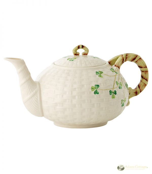Belleek Teapot 24.2cm(w)x14cm(h) 1035ml ShamrockTeapot