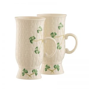 Belleek Coffee Mugs  Irish Coffee Mugs