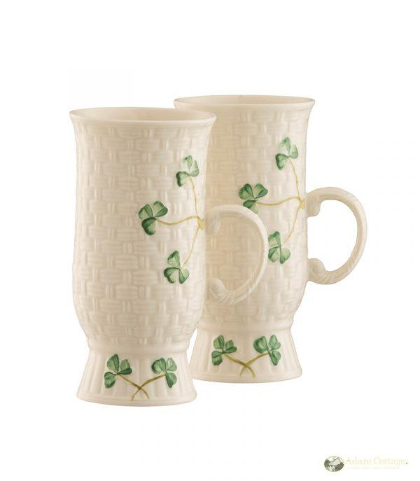 Belleek Coffee Mugs  Irish Coffee Mugs