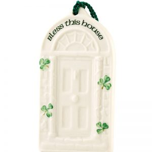 Belleek House Blessing Ornament  House Blessing Ornament