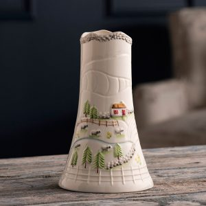 Belleek Vase  Connemara Vase
