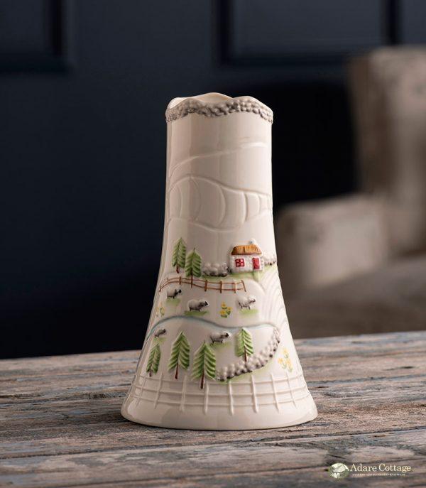 Belleek Vase  Connemara Vase