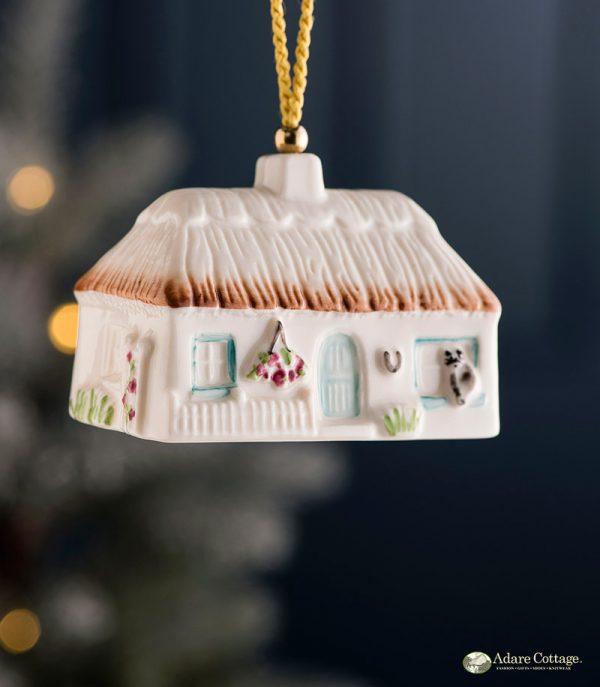 Belleek Cottage Ornament  Azalea Cottage