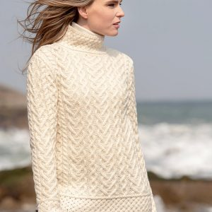 Westend TheHearts Natural Ladies Knitwear