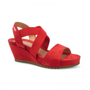 Mephisto Giuliana Red Ladies Footwear