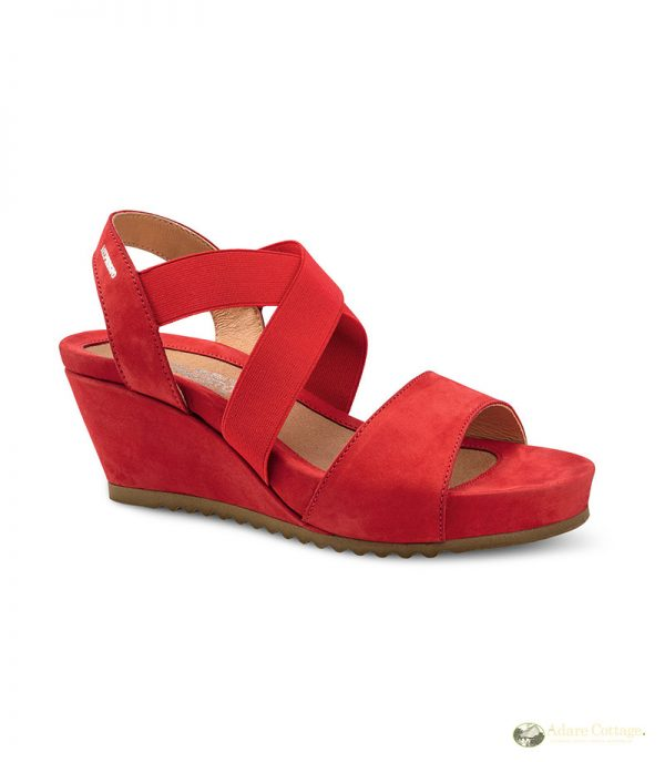 Mephisto Giuliana Red Ladies Footwear