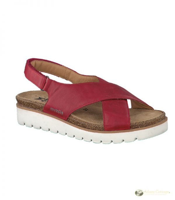 Mephisto Tally Red Ladies Footwear