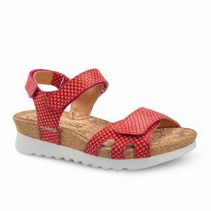 Mephisto Quirina Red Ladies Footwear