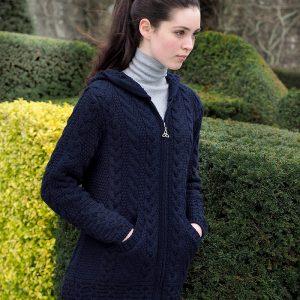 Westend Galway Navy Ladies Knitwear