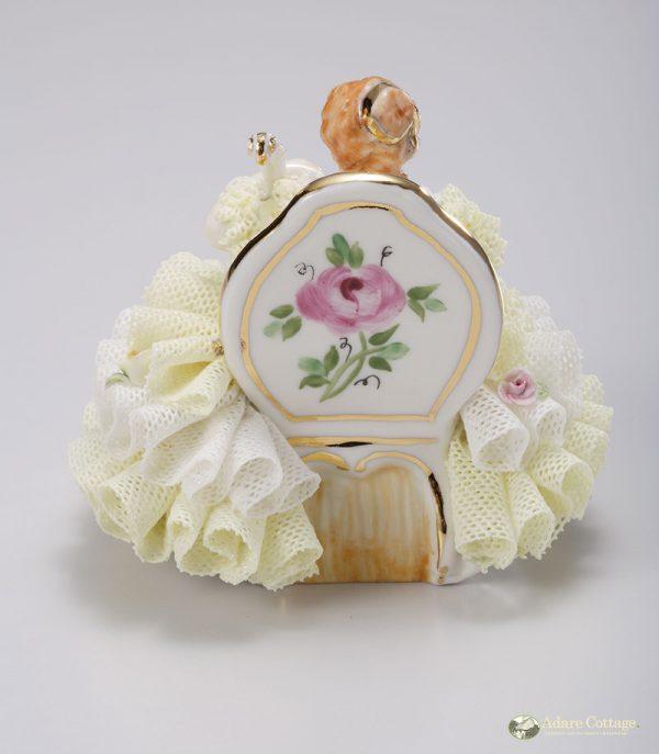 Irish Dresden Porcelain Stephanie Figurine -Lemon