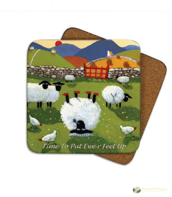 Thomas Joseph Time to put your Feet up Coaster