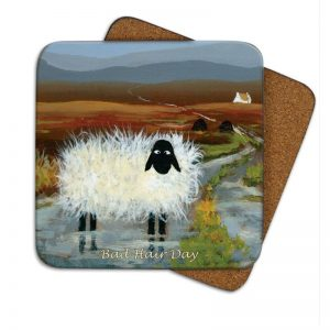Thomas Joseph Bad Hair Day Coaster