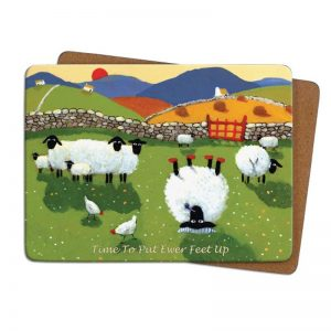 Thomas Joseph Time to put your Feet up Table mat