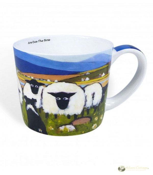 Thomas Joseph Are Ewe The Boss Mug