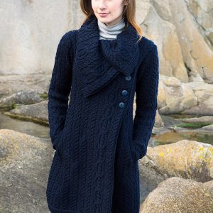Westend The Burren Navy Ladies Knitwear