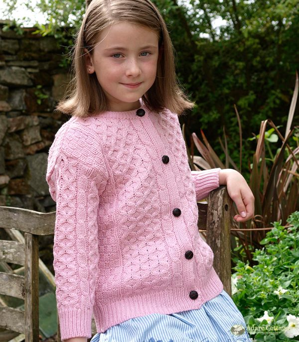 Westend Girls Cardigan Pink Girls Kids