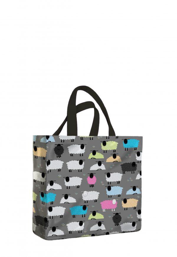 Ewe Beauty PVC Medium Gusset Bag 998VBM scaled