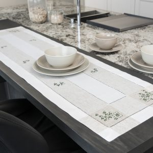 Kinsale Shamrock table Runner