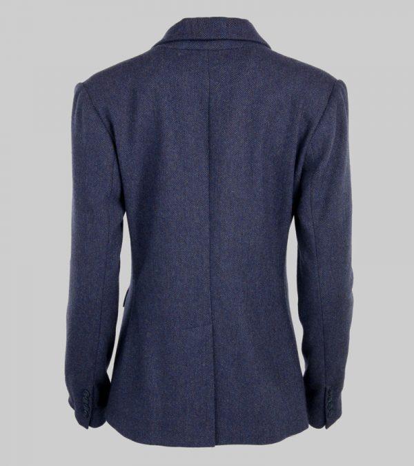 ACS Blue Tweed Blazer Back