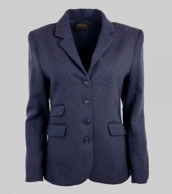 ACS Blue Tweed Blazer Front