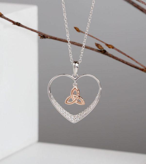 ACS Shan Ore Celtic Knot Heart