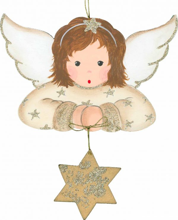 WA 1182 WGO. Angel Hanging