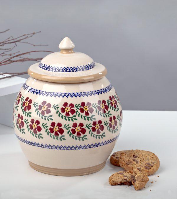 ACS Nicholas Mosse Old Rose Cookie Jar 1 DC WEB