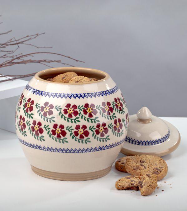 ACS Nicholas Mosse Old Rose Cookie Jar 2 DC WEB