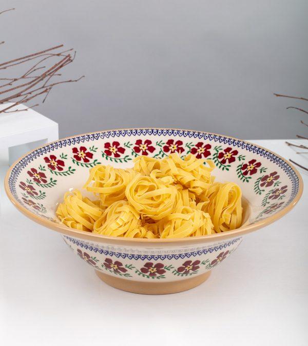 ACS Nicholas Mosse Old Rose Serving Pasta Bowl 4 WEB