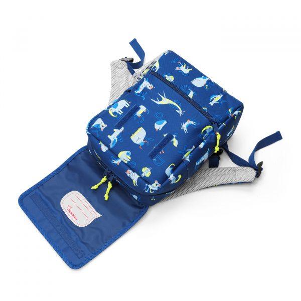 IE4066 backpack kids abc friends blue reisenthel Web D 01