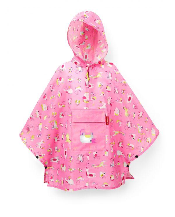 IG3066 mini maxi poncho M kids abc friends pink reisenthel Web P 01